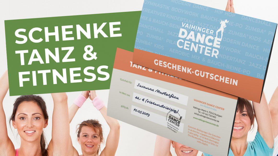 Geschenk-Gutscheine: Freude, Tanz & Fitness zum Schenken!
