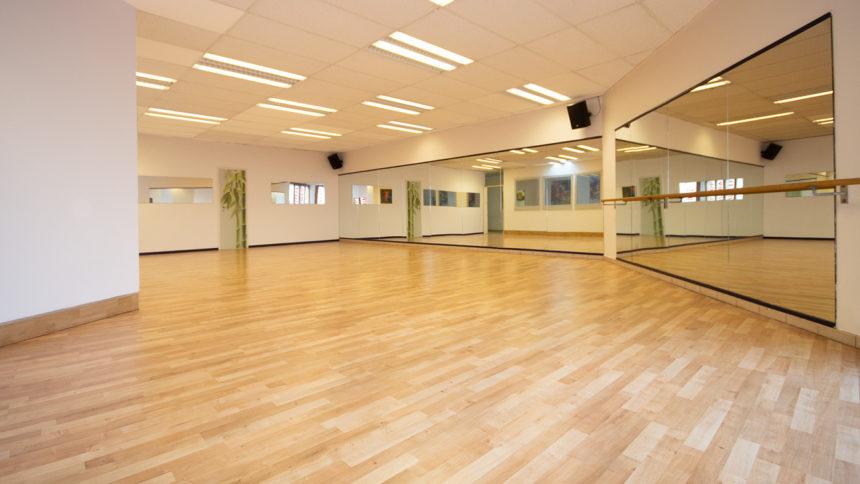 Großer Tanzsaal im VAIHINGER DANCE CENTER Stuttgart