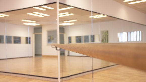 Helle Räume im VAIHINGER DANCE CENTER Stuttgart