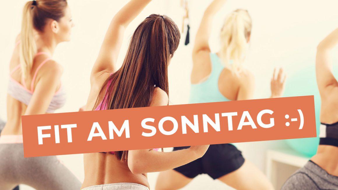 Ab April auch sonntags Tanz und Fitness!