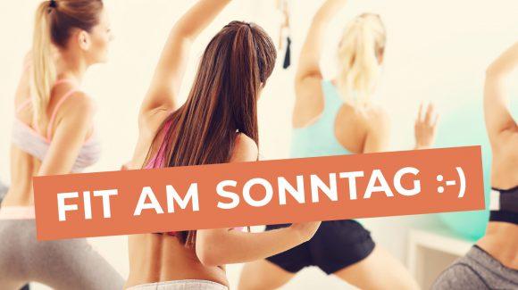 Ab April 2019 auch sonntags Tanz und Fitness!